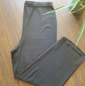 Eileen Fisher Washable Wool Wide Leg Pants 1X